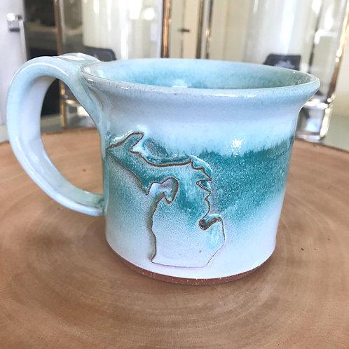 Handmade Michigan Mugs