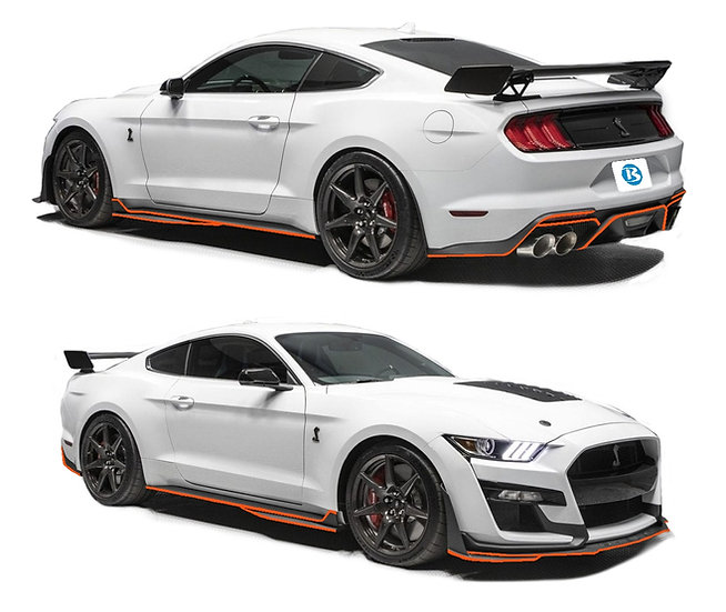 2020 GT500 Ground Effects Pinstripe Kit