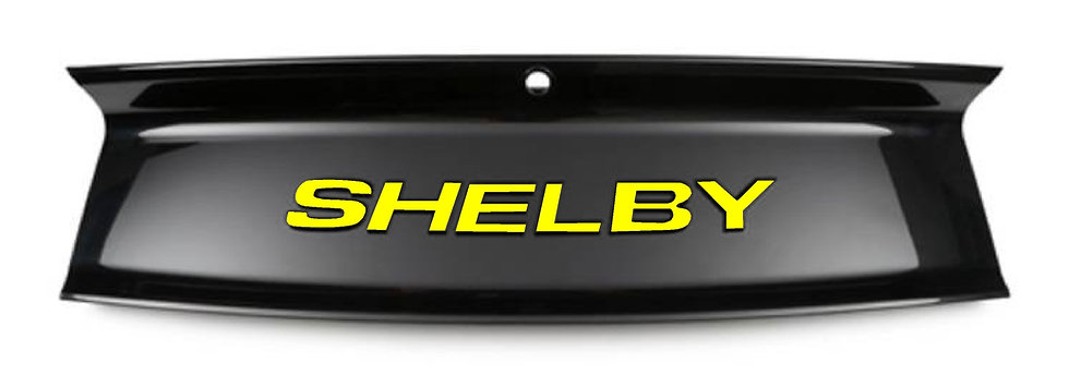"""SHELBY"" Overlay for Super Snake Trunk Decklid"