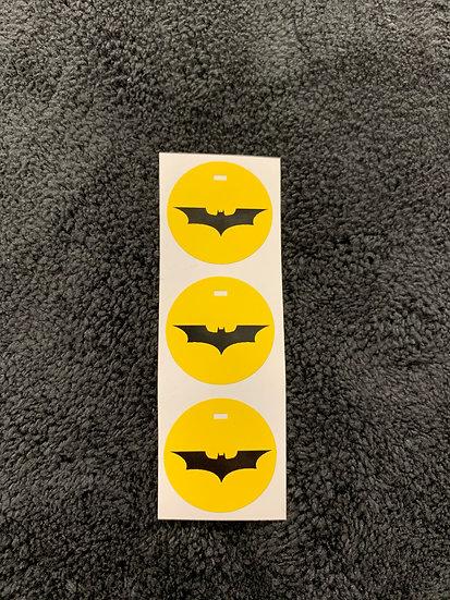 Batman Push to Start Button Overlay *Yellow*
