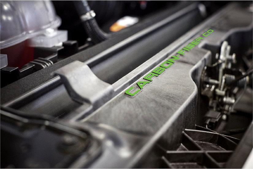 Carbon Fiber Composite Radiator Support Overlay