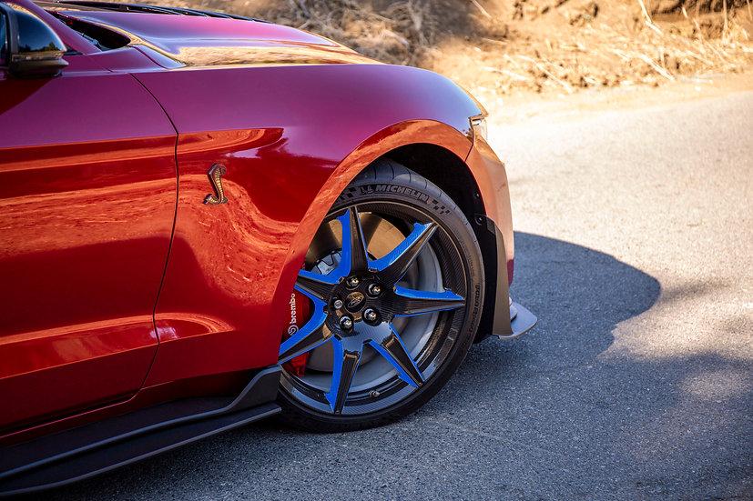 2020 GT500 Carbon Wheel PPF