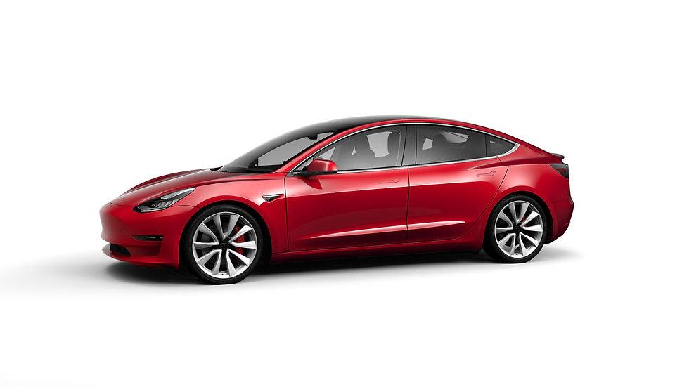 Model 3 Door Handle Overlays