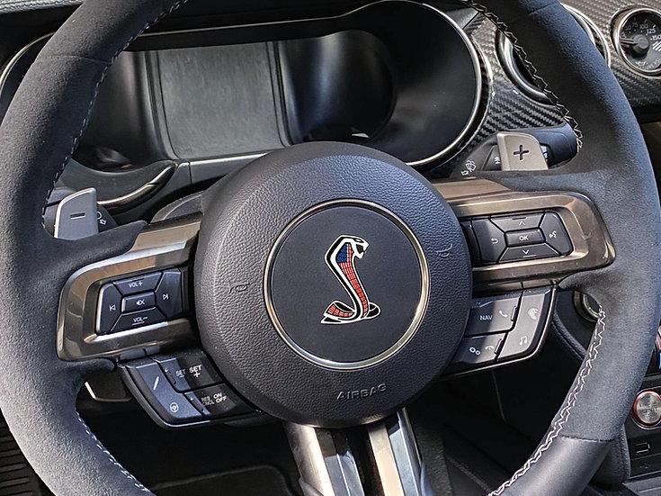 GT500 & GT350 Steering wheel overlay