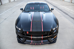 Shelby GT350R Center Stripes