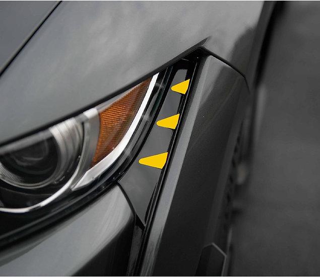 GT500 Front Bumper Side Overlays