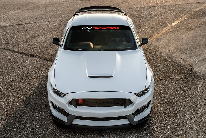 Ford Performance Windshield Banner