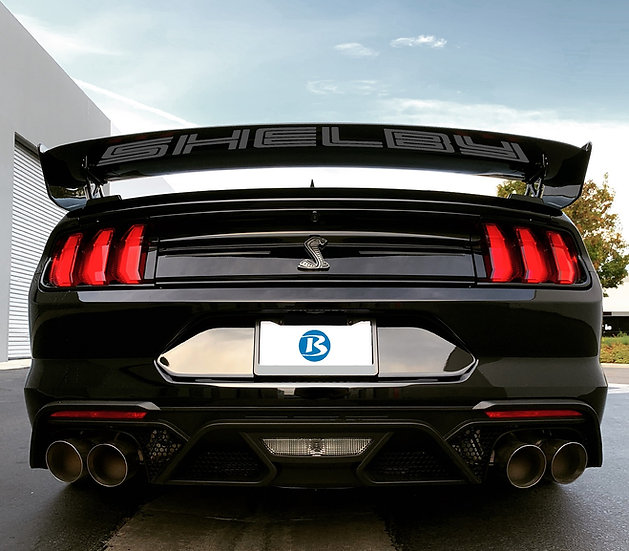 2020 GT500 Carbon UNDER WING Reflective Decal