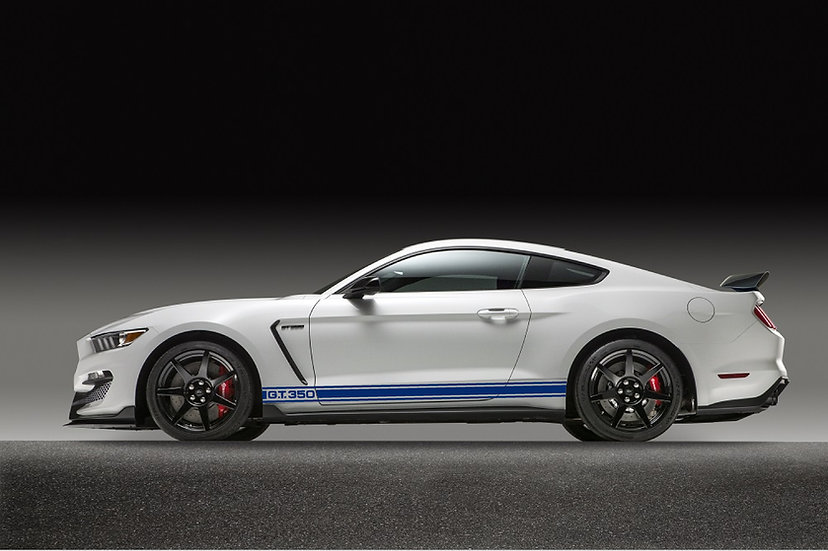 1965 GT350 Style stripes for 2015 - 2018 GT350 body
