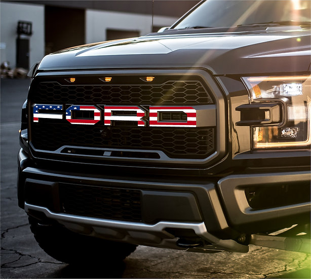 2nd Gen. FLAG Raptor Grille Overlays