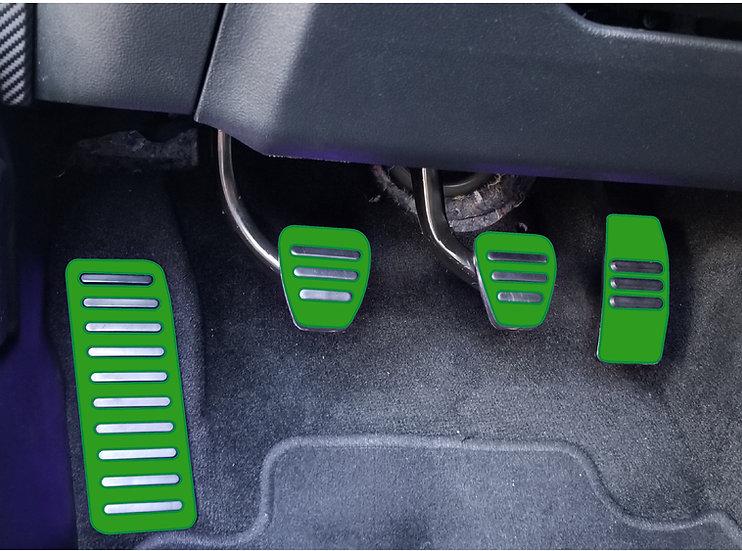 GT350 Pedals Overlays
