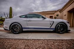 Shelby GT350 Side Stripes