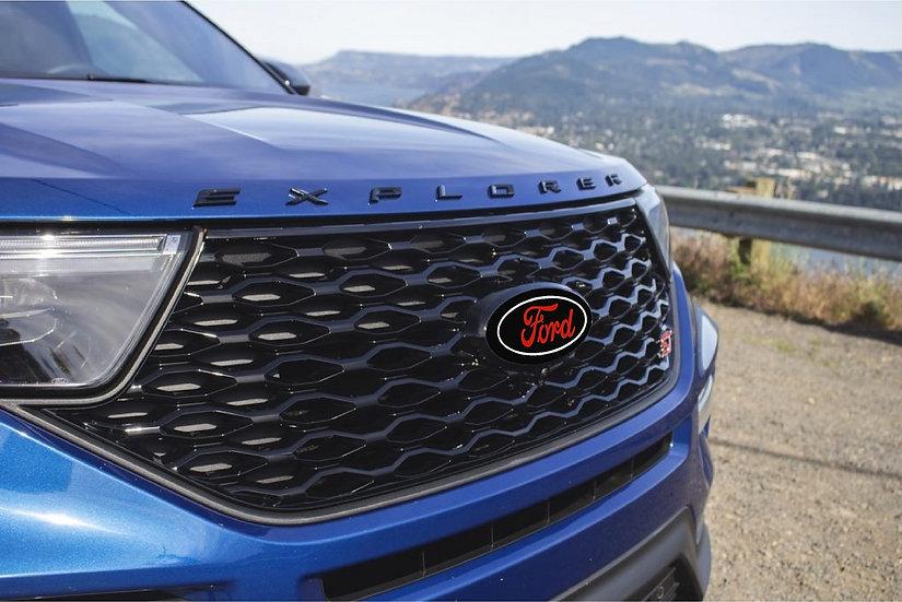 """2020 Explorer ST """"Ford"""" emblem overlays"""