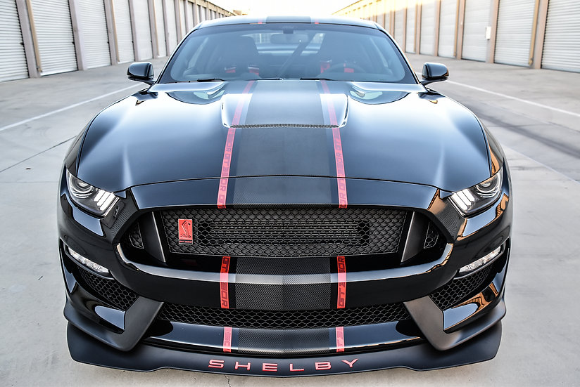 "GT350&R ""VAMPIRE COBRA"" Stripe kit"