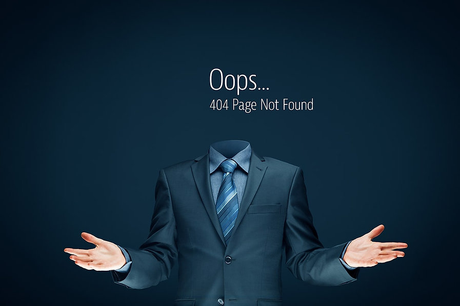 404 Error Page Serdar Business Broker.jp