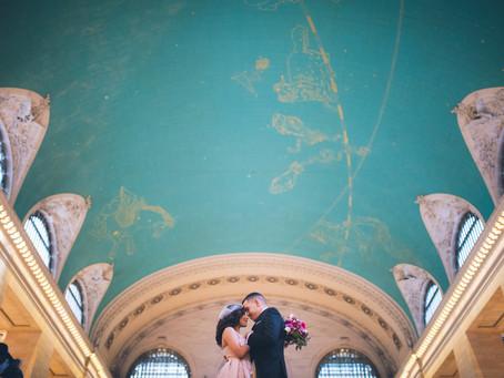 Dorian and Maribel's Grand Central Elopement
