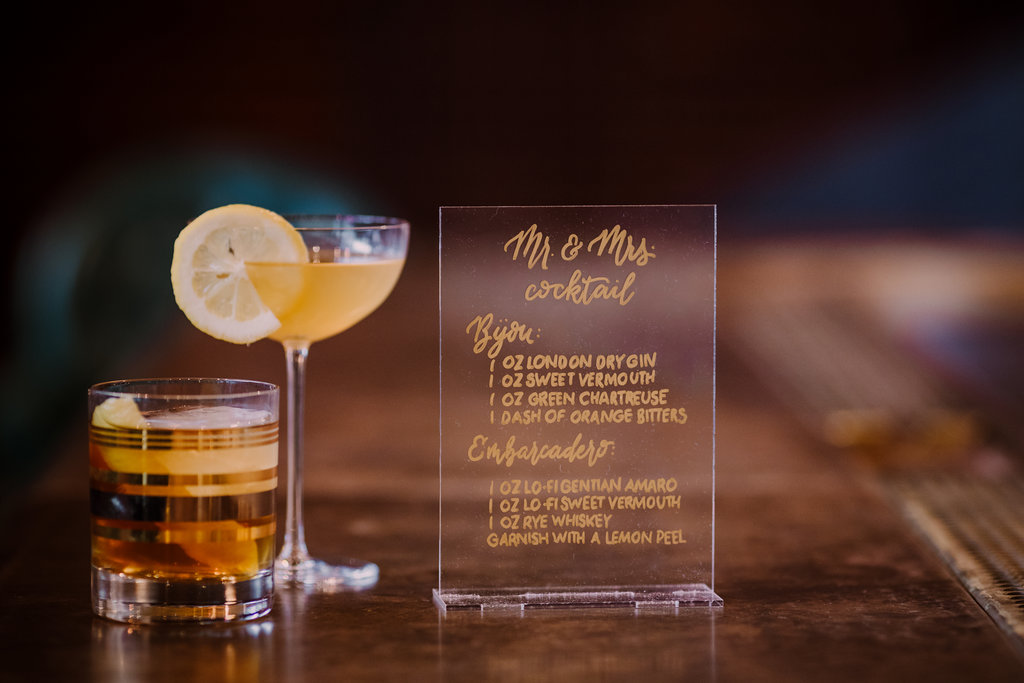 Mr. and Mrs. Specialty Drinks
