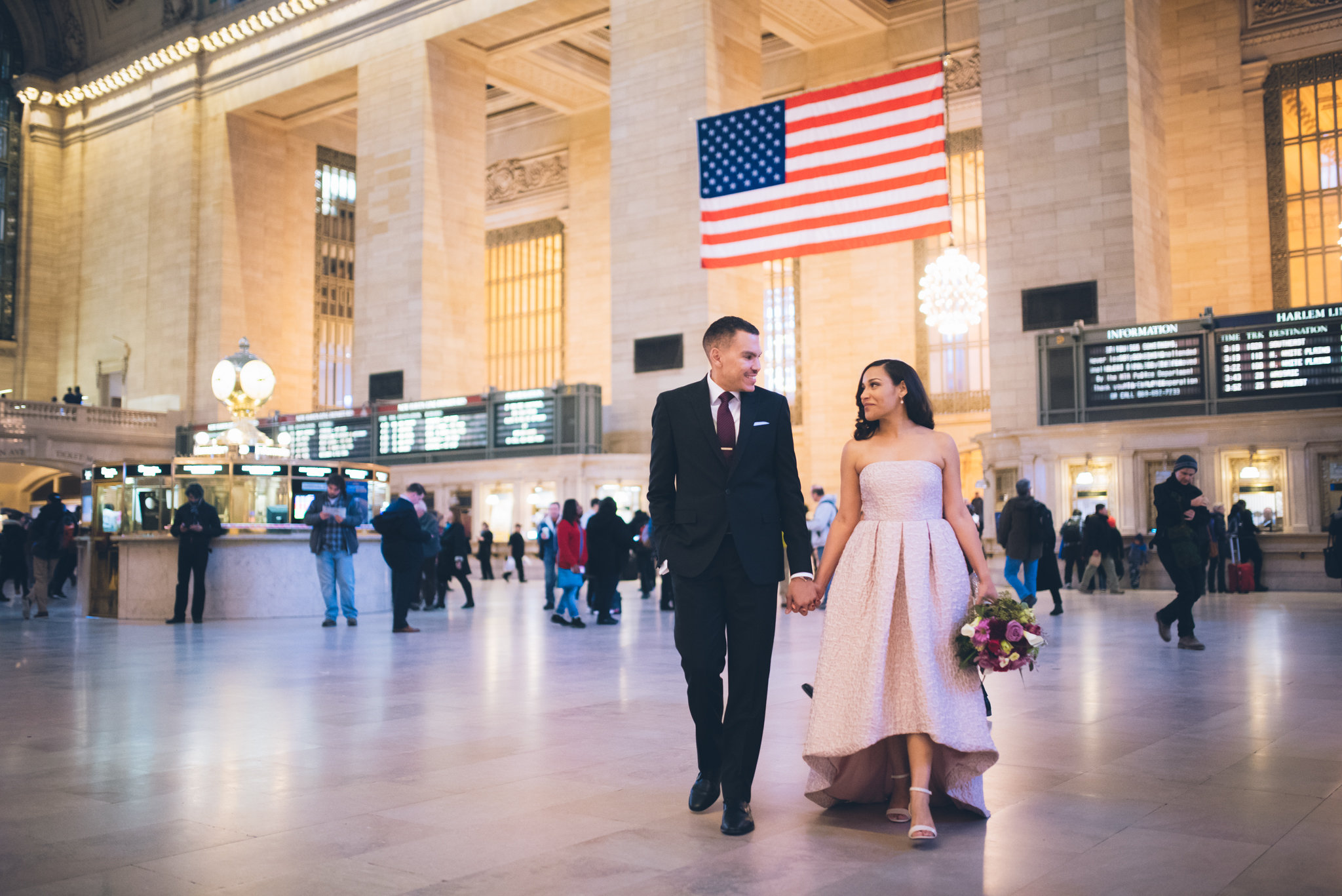 Elope in Grand Central Station
