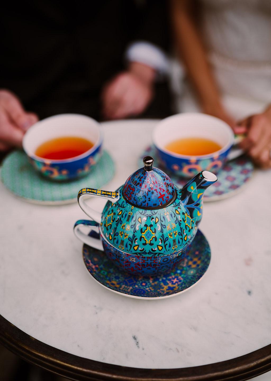 Tea Ceremony at Williamsburg Hotel