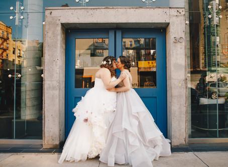 Amanda and Jessica's Perfect Book-Loving Feminist Wedding