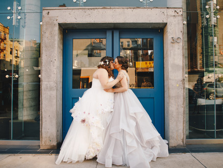 Amanda and Jessica's Perfect Book-Loving Feminist Wedding