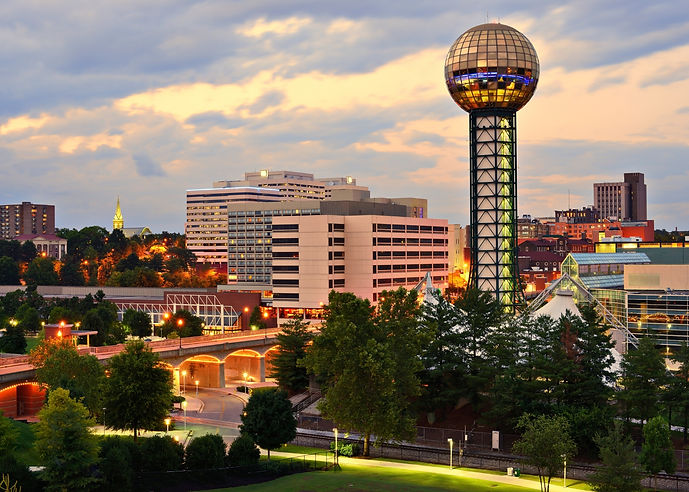 Knoxville Tennessee-Downtown  Worlds Fai