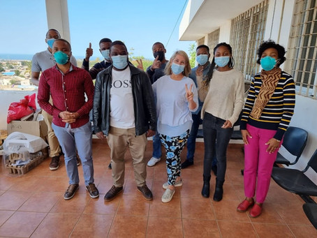Spirometry Training for our Mozambique Team