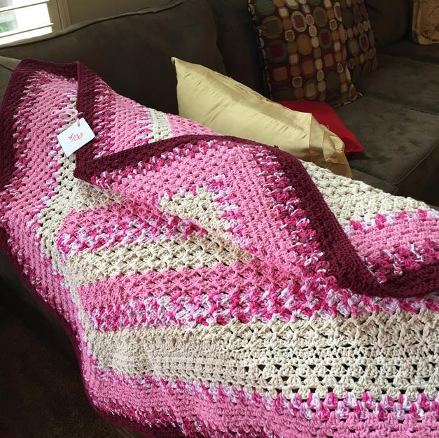 Full Size Pink & Rose - $100
