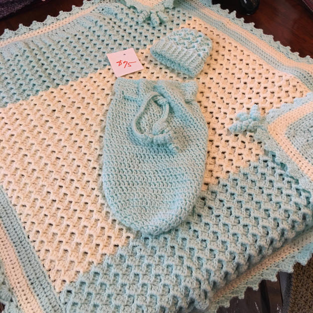 Blue Baby Set - $75