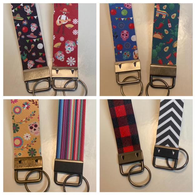 Wristlet Keychains - $3 each
