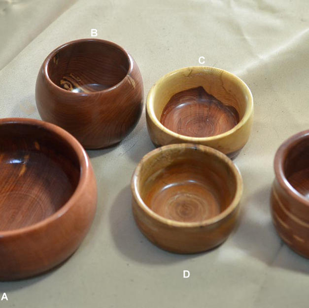 Small Wooden Bowls - $15 each