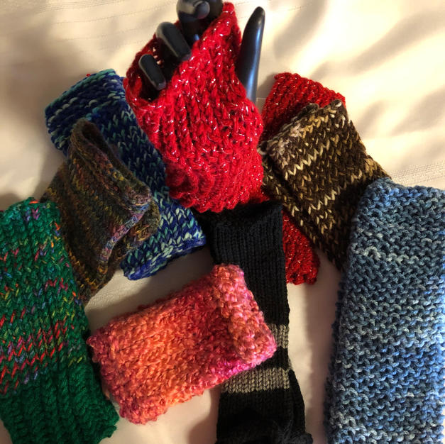 Fingerless Gloves - $8 each