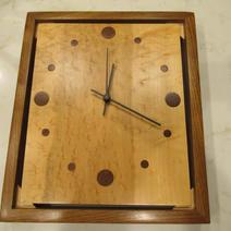 Floating Wall Clock - $45.00