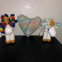 Unicorns and Heart - $10.00 - $15.00