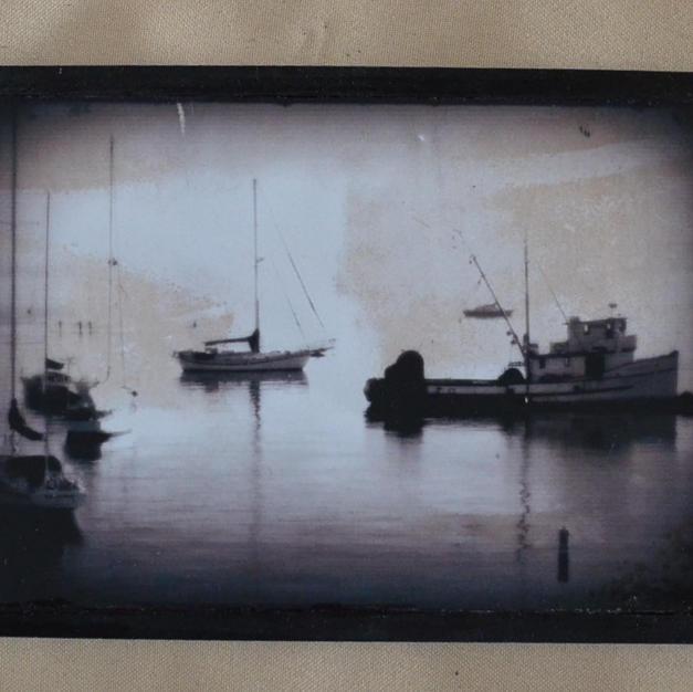 Black and White Fishing - $7
