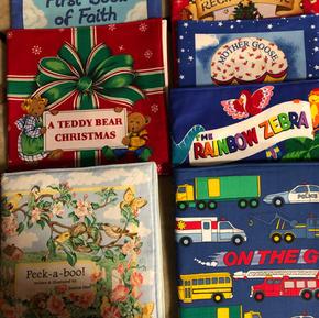 Cloth Baby Books - $8 each