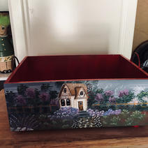 Back Side of Wooden Box (previous picture)