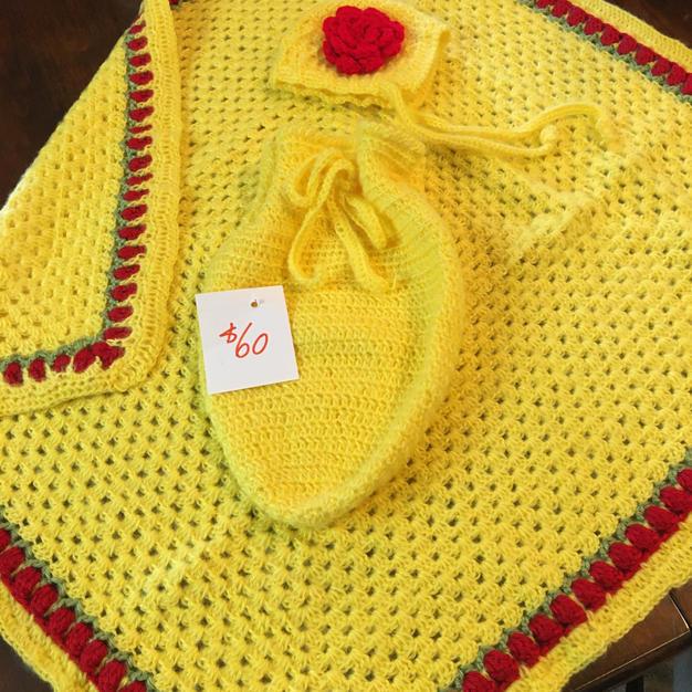 Yellow Baby Set - $60