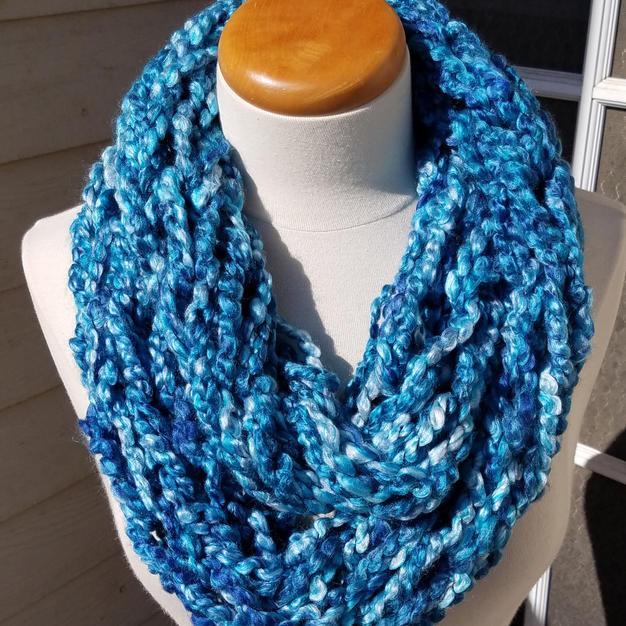 Arm Knit Infinity Scarf - $23