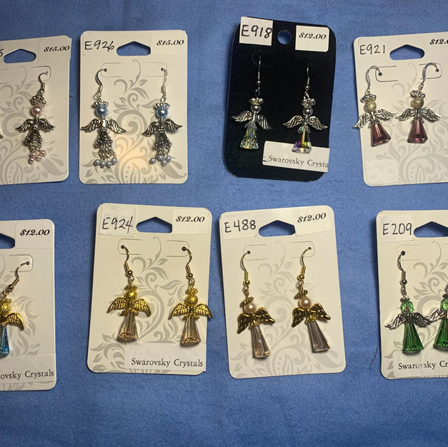 Angel Earrings $12 - $15 each