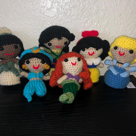 Disney Princesses - $15.00 each