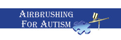 Airbrushing for Autism Banner
