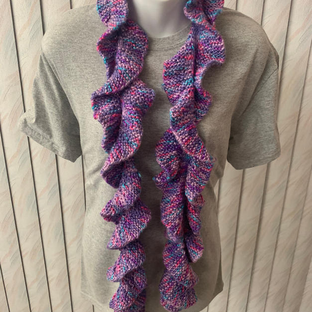 Shades of Purple Spiral - $25