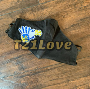 Down Syndrome Awareness Mask $15