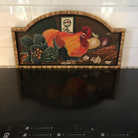 Wooden Chicken Decor - $25.00