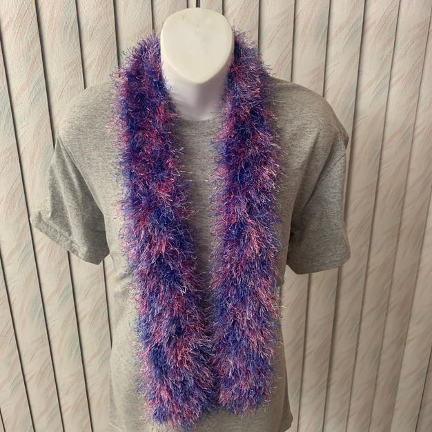 Purple Fun Fur - $15
