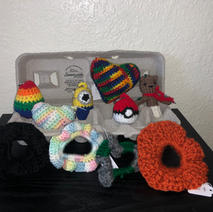 Key Chains and Scrunchies - $5.00 each