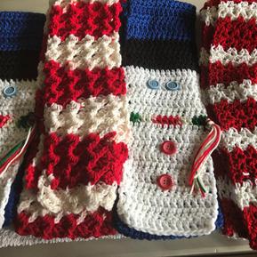 Christmas Scarves - $8 each
