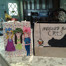 Totes - $20.00 and $25.00