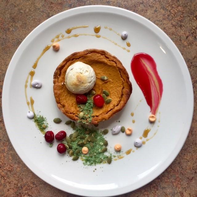 Chef Metzler's Pumpkin Tarte